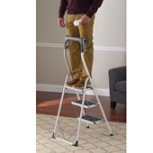 German Engineered Safety Railstep Ladder