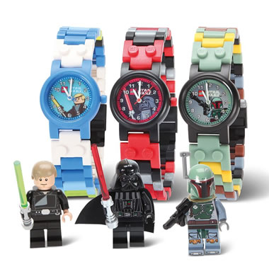 The Children's Star Wars Lego Watch.