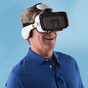 The Virtual Reality Smartphone Headset.