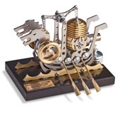 Stirling Engine Viking Ship