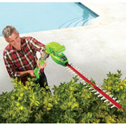 The Best Cordless Telescoping Hedge Trimmer.