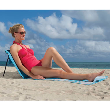 The Sandless Portable Beach Lounger