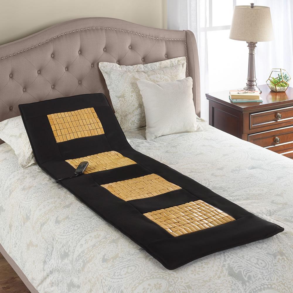 The Any Surface Full Body Massage Pad Hammacher Schlemmer