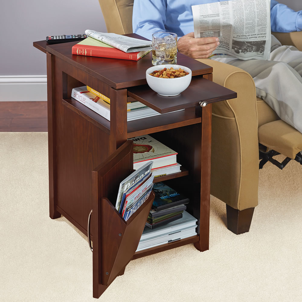 The Easy Access Recliner Side Table 2