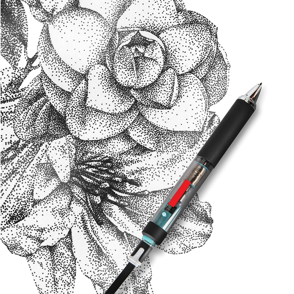 The Pointillist Artist's Electronic Pen 2