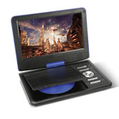The 6 Hour Portable DVD Player.
