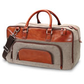 The Traditional Tweed Travel Bag.