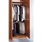 Space Optimizing Trouser Rack Black
