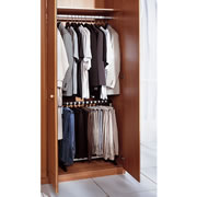 The Space Saving Easy Access Trouser Rack.