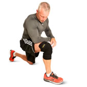 The Cordless Heated Knee Wrap.