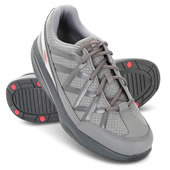 Back Pain Rlving Mens Wlkng Shoe Gry 10