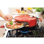 Crispy Crust Stove Top Pizza Oven