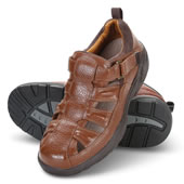 Mens Neuropathy Sandal Blk 10