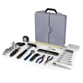 66 Piece Organized Tool Kit Gray