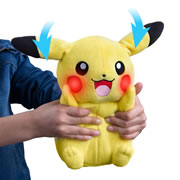 The Animated Plush Pikachu.