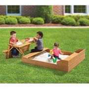 The Transforming Sandbox Picnic Table.