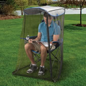 Portable Mosquito Thwarting Chair