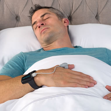 The Snore Reducing Oxygen Level Monitor.