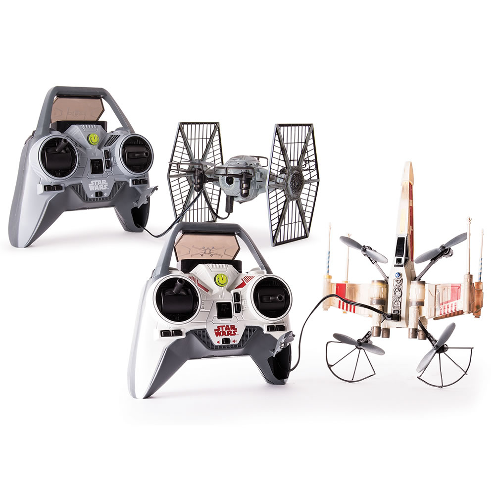 The Battling X-Wing And Tie Fighter Drones 4