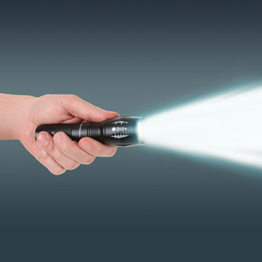 The Five Mile Flashlight.