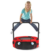 The Plush Ladybug Bouncer.
