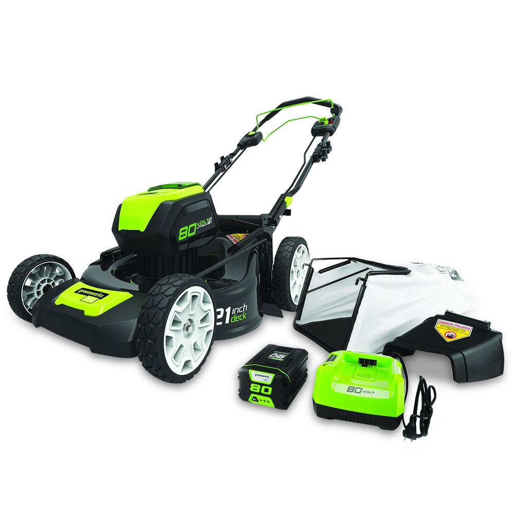 The Self Propelled Cordless Electric Mower 2