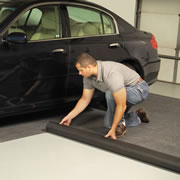 The Water Absorbing Garage Mat.