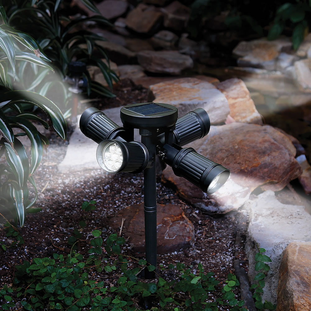 The Quad Directional Solar Light 1