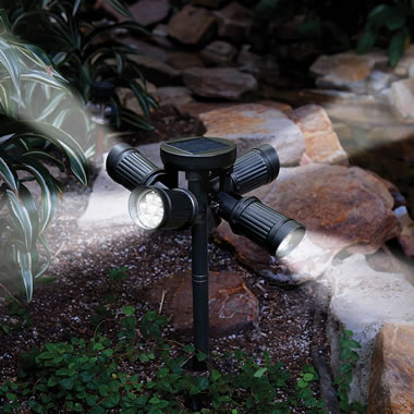 The Quad Directional Solar Light.