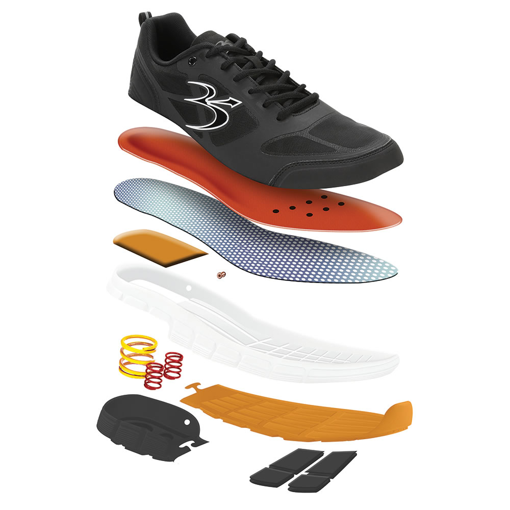 The Superior Shock Absorbing Walking Shoes (Men's) 3