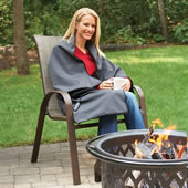 2017 Cordless Heated Throw Gray