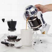 The R2-D2 Coffee Press.