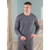 Sleep Enhancing Sleepwear Top Men Gry Lr