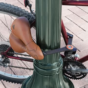 The Removable Seat To Bike Lock.