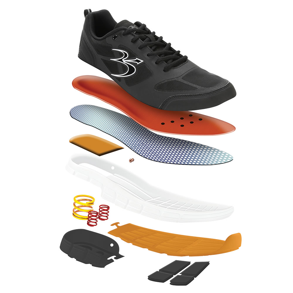 The Superior Shock Absorbing Walking Shoes (Women's) 3