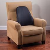 Customizable Lumbar Backrest Support Blk