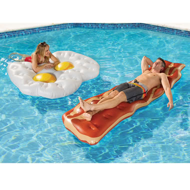The Bacon And Eggs Floats
