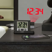 Travel Projection Alarm Clock