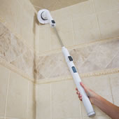 Long Reach 300 Rpm Spinning Scrubber Whi
