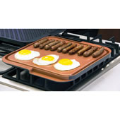 Scratchproof Nonstick Double Sided Gridd