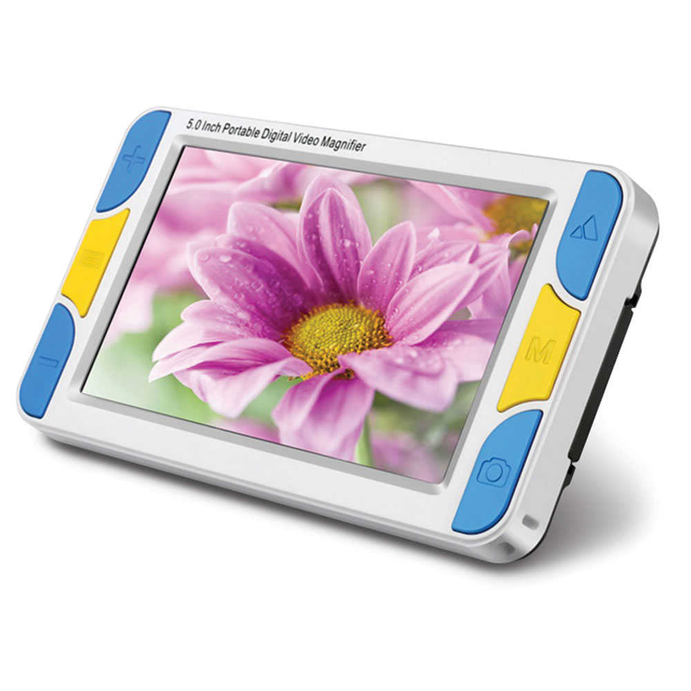 The Widescreen Hd Digital Magnifier Hammacher Schlemmer