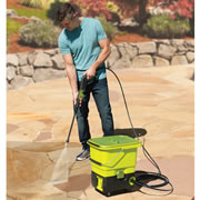The Cordless Pressure Washer.