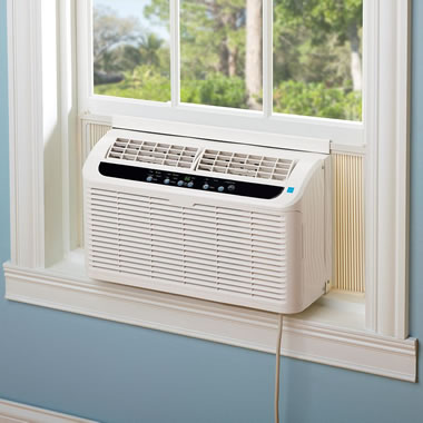 The Quietest Window Air Conditioner.