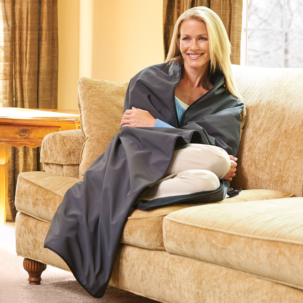 The Cordless Heated Throw 2