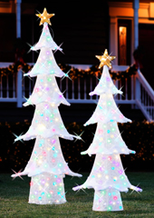 The Pop Up Lightshow Outdoor Tree