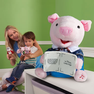 The Animated Storytelling Little Pig