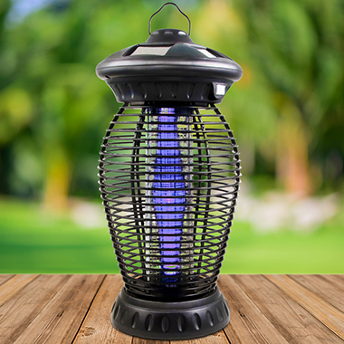 The Solar Powered Bug Zapper.