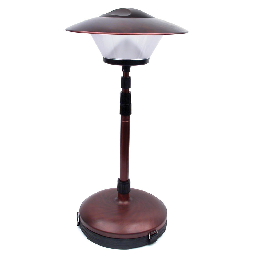 Captivating The Cordless Telescoping Patio Lamp