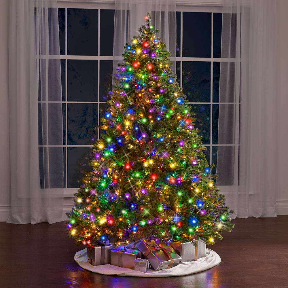 The World's Best Prelit Douglas Fir (7 5' Slim LED)2