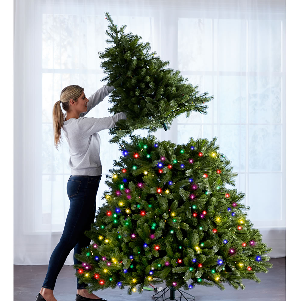 The World's Best Prelit Douglas Fir (7 5' Slim LED)3